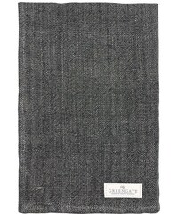 Green Gate Utěrka Heavy linen dark grey