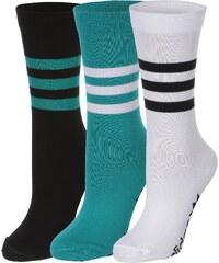 adidas Thin Crew Graphic 3-Pack Socken wht/black