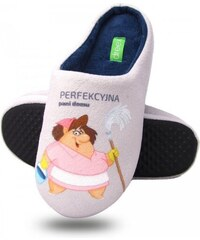 Dámské papuče 302A Perfekcyjna Pani domu Dreex
