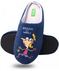 Dámské papuče 305 Biegam bo lubię Dreex