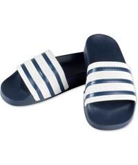 adidas Adilette Badeschuhe adiblue/white