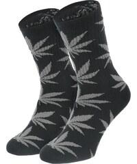 Huf Plantlife Crew Socken black grey heather