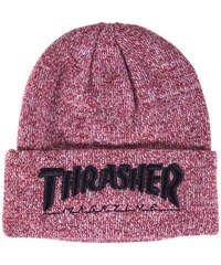 Kulich Thrasher Embroidered Logo heather maroon/ black