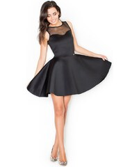 KATRUS Dámské šaty K238 black