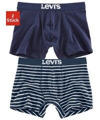 LEVI'S® Boxer (2 Stück) in normaler Passform und Logo auf dem Bund Farb-Set L,M,S,XL