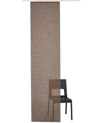 Schiebegardine Naturoptik (1 Stück) Gardinia braun H/B: 245/60 cm