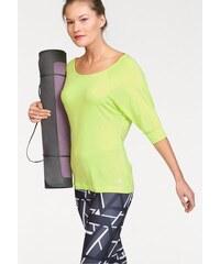 adidas Performance YOGI TWIST TEE Yogashirt gelb L (44/46),M (40/42),S (36/38),XL (48)