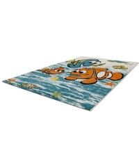 LALEE Kinder-Teppich Amigo 319 gewebt blau 3 (B/L: 120x170 cm),4 (B/L: 160x230 cm)