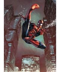 KOMAR Papiertapete Spider-Man Jump 184/254 cm rot