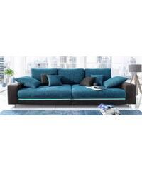 Big-Sofa wahlweise mit RGB-LED-Beleuchtung Baur 400 (=ivory/grau-ecru),412 (=hellgrau/schwarz-grau),413 (=beige/sand),414 (=schwarz/navy)