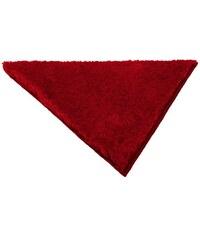 Badematte Merida Höhe 32 mm rutschhemmender Rücken in Dreieck-Form MY HOME rot 60 (50x50 cm Dreieck),61 (90x90 cm Dreieck)