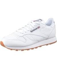 Classic Leather Sneaker mit weichem Obermaterial aus Leder Reebok weiß 39,40,41,42,43,44,45,46,47