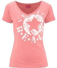 Venice Beach Damen Shirt mit Logo-Druck rot 32/34,36/38,40/42,44/46