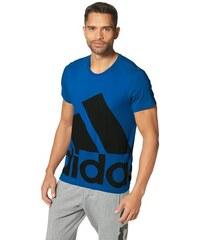 LOGO TEE BIG T-Shirt adidas Performance blau L (52/54),M (48/50),S (44/46),XL (56/58)