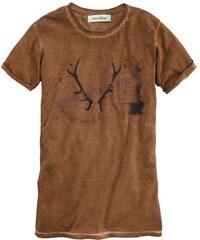 Mondkini Trachtenshirt im Batik Look MONDKINI braun L(52),M(48/50),S(44/46),XL(54)