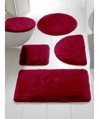 Badgarnitur Heine Home rot Set: Deckelbezug ca.47/50cm+ca.45/50cm, m. Ausschnitt,Set: Deckelbezug ca.47/50cm+ca.45/50cm, o. Ausschnitt,ca. 45/50 cm,ca. 50/80 cm, halbrund,ca. 50/90 cm,ca. 60/100 cm,ca