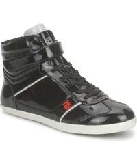 Dorotennis Chaussures BASKET PU VERNIS PERFORE HI