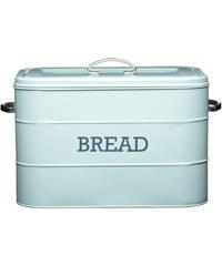 Kitchencraft Plechová dóza Kitchen Craft Bread, modrá
