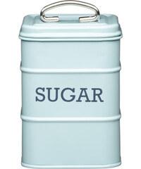 Kitchencraft Plechová dóza Kitchen Craft Sugar, modrá