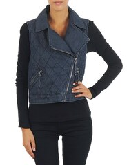 Mustang Veste WOOL PADDED DENIM VEST