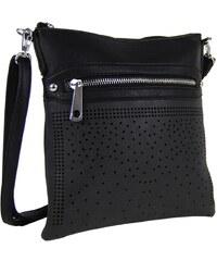 Tapple Elegantní malá dámská crossbody kabelka 5228 černá