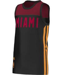 adidas Trička s krátkým rukávem Dětské Maillot NBA Training Heat Junior adidas