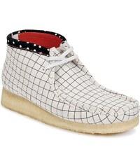 Clarks Kotníkové boty WALLABEE BOOT Clarks