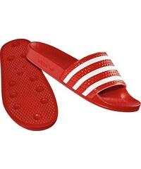 adidas Adilette Badeschuhe lgtscarlet/wht/lgtscarlet