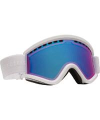 Electric Egv Schneebrillen Goggle gloss white/rose/blue chrome