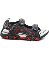 Peddy Sandály Dětské PU-512-37-10 modré dětské sandály Peddy