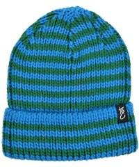 K1x Čepice kulich - Stripe Beanie Diva Blue/Ultrmarine (4325) K1x