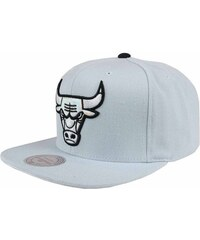 Mitchell And Ness Kšiltovky kšiltovka - Slate Grey Bulls (BULLS) Mitchell And Ness