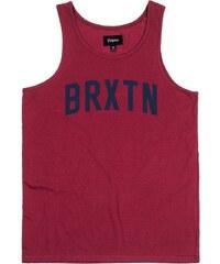 Brixton Tílka / Trička bez rukávů tílko - Hamilton Burgundy 0702 (0702) Brixton