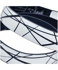 Lowlife Pásky pásek - Bates Print Rev White (WHITE) Lowlife