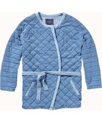 Maison Scotch Indigo kimono sweat jacket