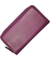 Ledergeldbörse WB005 Purple
