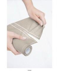 MY drap - Role bavlněných ubrousků, koktejlový, pískový 11x11, 50ks (SA11-603-2)