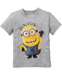 Despicable Me 2 T-Shirt MINIONS, Gr. 80/86-128/134 kurzer Arm in grau für Jungen von bonprix