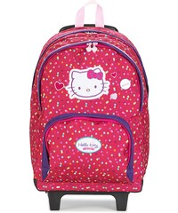 Hello Kitty Cartable HELLO KITTY SAC A DOS 2 COMPARTIMENTS A ROULETTES