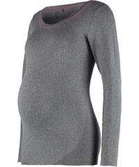 Mama Licious MLFIT Langarmshirt medium grey melange
