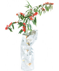 Pepe Heykoop - Paper Váza stříbrná
