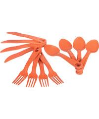Eco SouLife Cutlery Cluster Besteckset orange