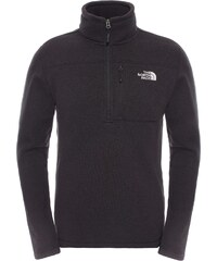 The North Face Gordon Lyons 1/4 pull polaire black heather