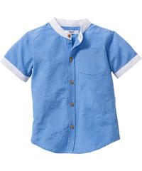 bpc bonprix collection Chemise, T. 80/86-128/134 bleu manches courtes enfant - bonprix