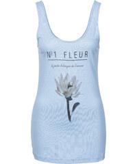 BODYFLIRT Top à imprimé bleu femme - bonprix