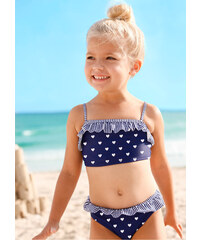 bpc bonprix collection Bikini fille (Ens. 2 pces.) bleu enfant - bonprix