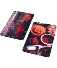 bpc living Plaques de protection Épices (Ens. 2 pces.) rouge maison - bonprix