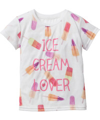bpc bonprix collection T-shirt, T. 80/86-128/134 blanc manches courtes enfant - bonprix