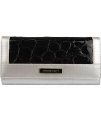 Dámská kožená peněženka Monnari 0342 - stříbrná