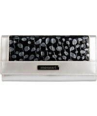 Dámská kožená peněženka Monnari 0341 - stříbrná